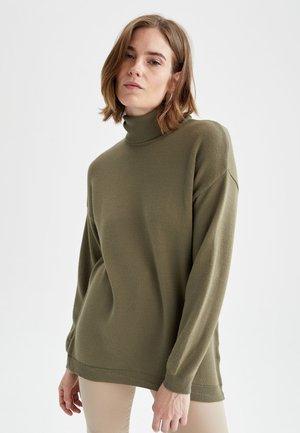 REGULAR FIT - Maglione - green