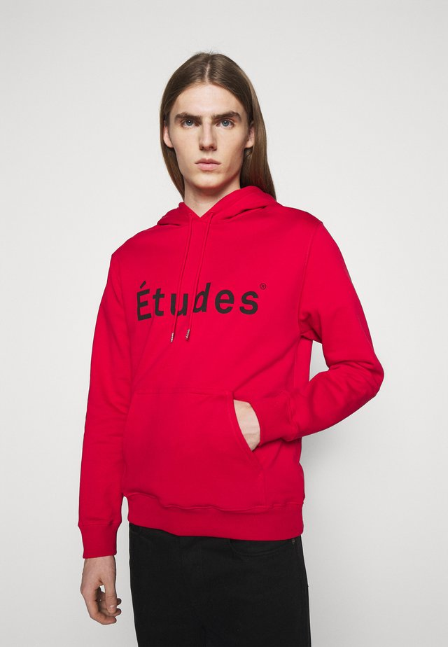 KLEIN UNISEX - Sweat à capuche - red