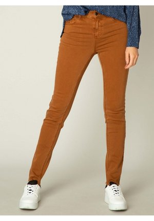 MELL ESSENTIAL - Slim fit jeans - cashew brown
