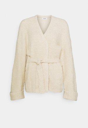 MILLY CARDIGAN - Cardigan - beige