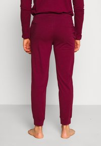 Pier One - 2 PACK - Bas de pyjama - dark blue/bordeaux - 2