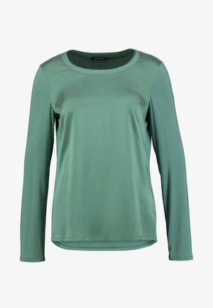 BLOUSE CREW NECK LONG SLEEVED - Blouse - sea green