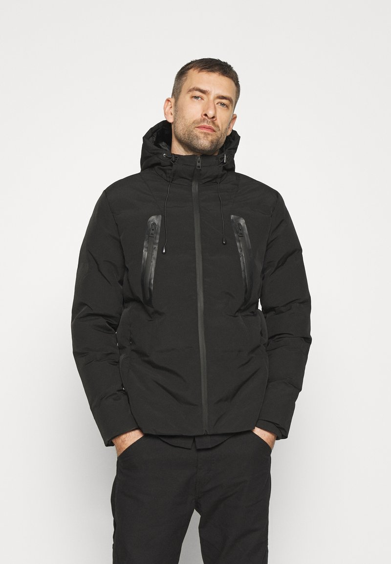 Solid - MANTO - Winter jacket - black