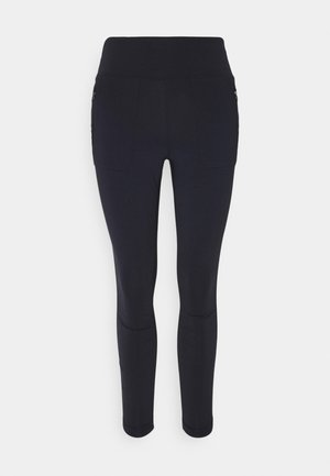 PARAMOUNT HYBRID HIGH RISE - Leggings - dark blue