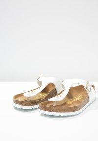 Birkenstock - GIZEH - T-bar sandals - white - 3