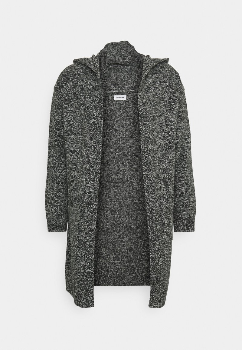YOURTURN - Cardigan - dark grey