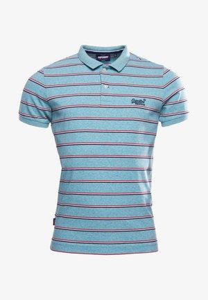 Polo shirt - vintage aqua grit