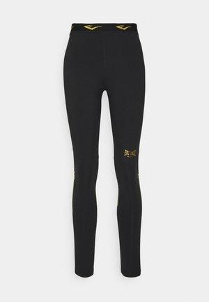 WOMEN LEONARD - Collants - black/gold