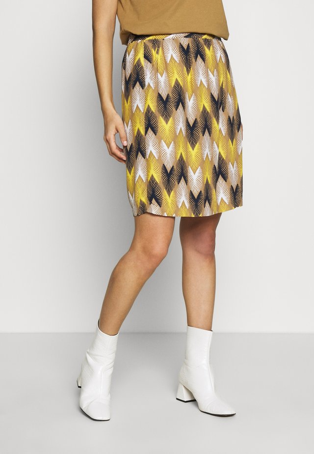 SKIRT ZIG ZAG - A-line skirt - dusty desert