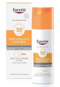 Eucerin - SUN PHOTOAGING CONTROL FACE CC CREME GETÖNT HELL LSF 50+ - Sun protection - - - 1
