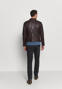 Oakwood - CASEY  - Leather jacket - wine - 2