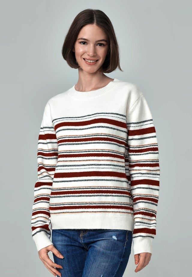 SALESAS - Stickad tröja - printed