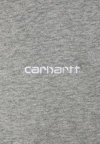 Carhartt WIP - SCRIPT EMBROIDERY - Basic T-shirt - grey heather/white - 2