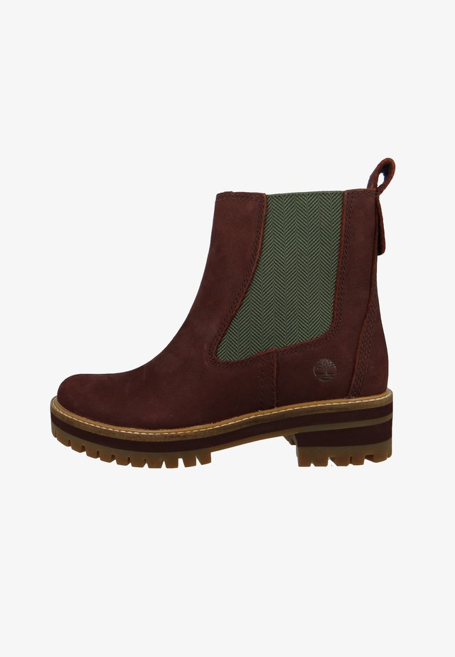 COURMAYEUR VALLEY  - Botines - burgundy nubuck