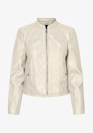 VMFAVODONA - Faux leather jacket - birch