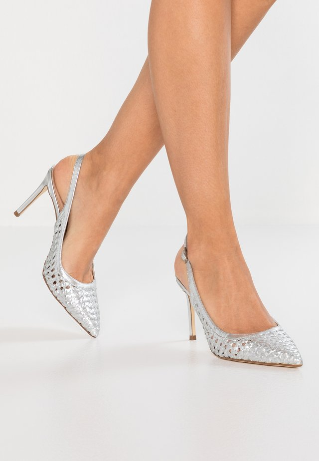CARDI - High Heel Pumps - silver