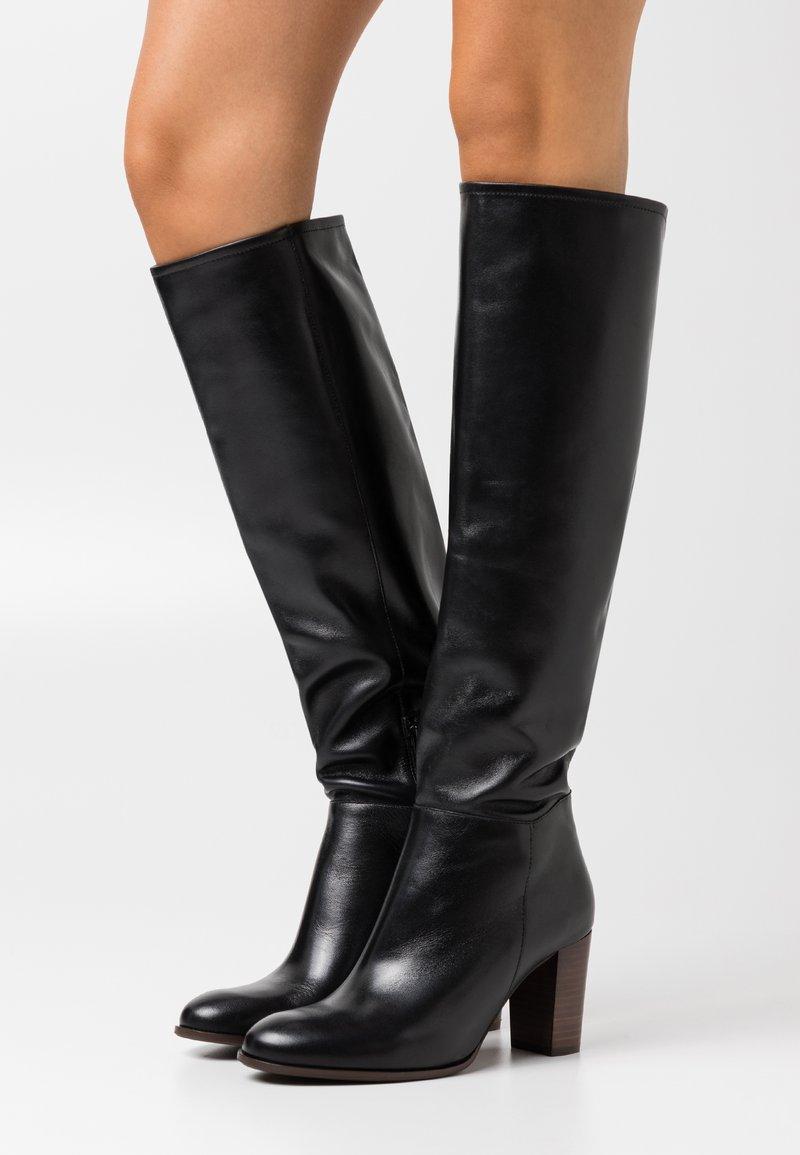 San Marina - AULITA - Vysoká obuv - noir