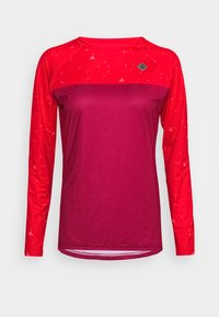Triple2 - SWET NUL WOMEN - Langarmshirt - beet red - 4