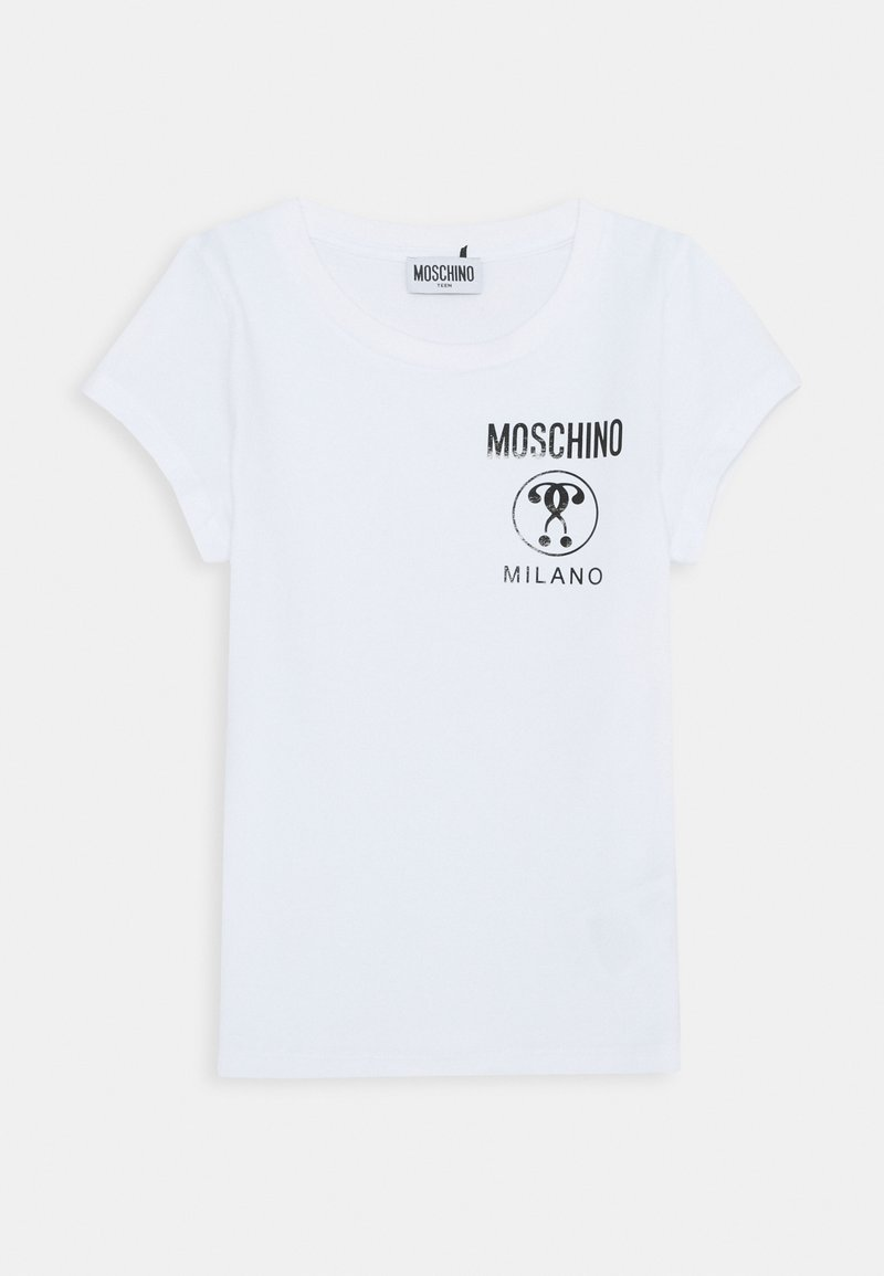 MOSCHINO - Print T-shirt - optic white
