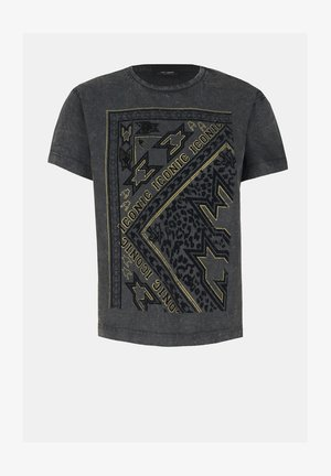 T-shirt print - grey
