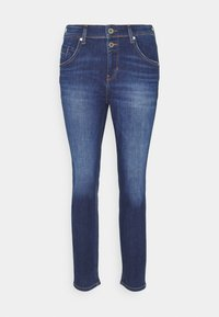 Marc O'Polo - ALBY STRAIGHT - Relaxed fit jeans - dark blue wash - 0
