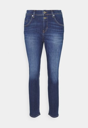 ALBY STRAIGHT - Relaxed fit jeans - dark blue wash