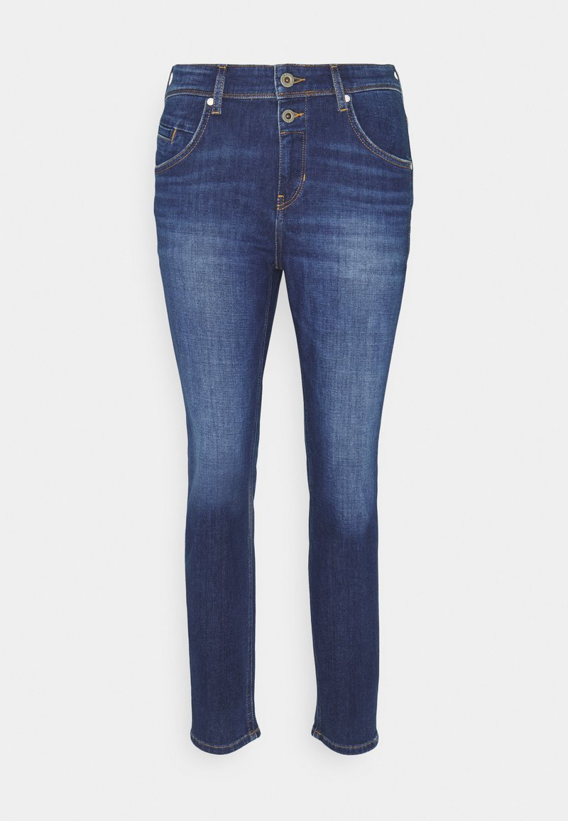 Marc O'Polo - ALBY STRAIGHT - Relaxed fit jeans - dark blue wash