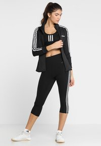 adidas Performance - 3/4 sportsbukser - black