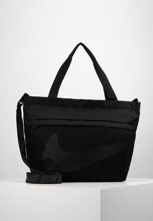 ESSENTIALS - Velká kabelka - black/smoke grey