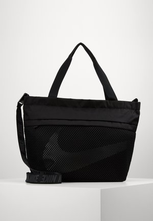 ESSENTIALS - Torba na zakupy - black/smoke grey