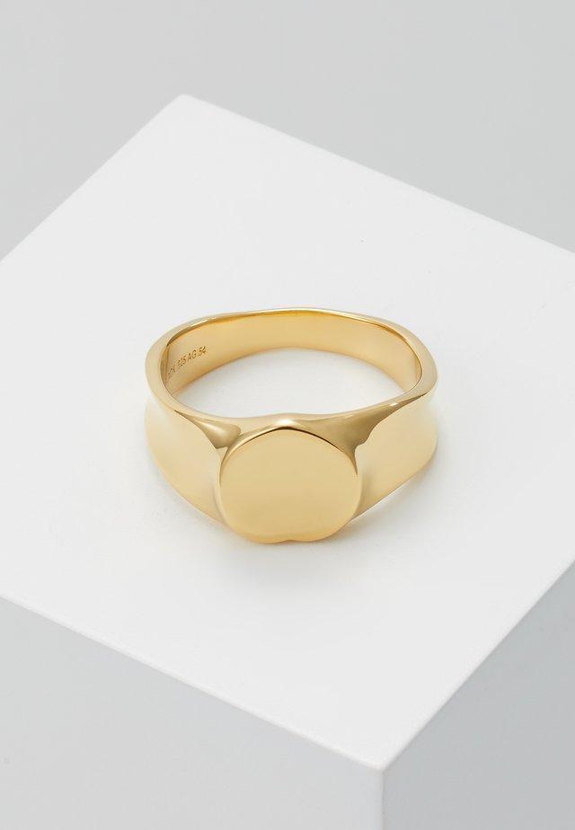 PEACH RING - Prsten - gold-coloured