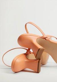 Mango - YES - Sandals - mandarine - 4
