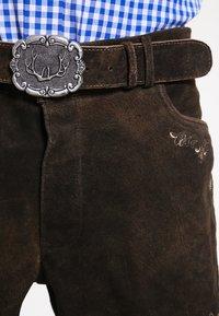 Stockerpoint - CORBI - Kožené kalhoty - bison - 3