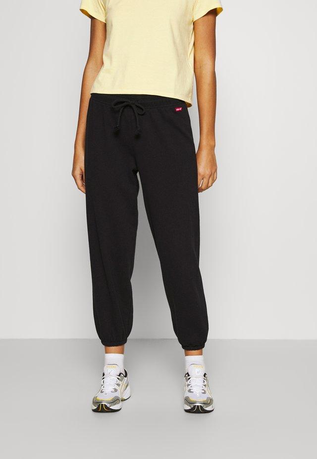 LOGO - Teplákové kalhoty - caviar