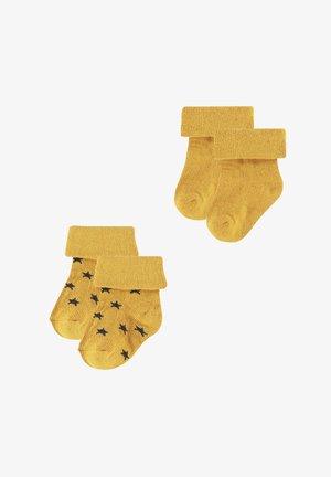 2ER PACK  - Sokken - honey yellow