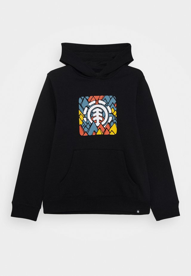 PALETTE HOOD BOY - Sweat à capuche - flint black