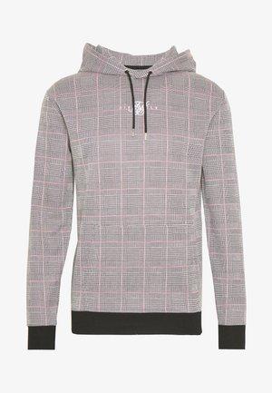 SMART OVERHEAD HOODIE - Felpa con cappuccio - grey/pink