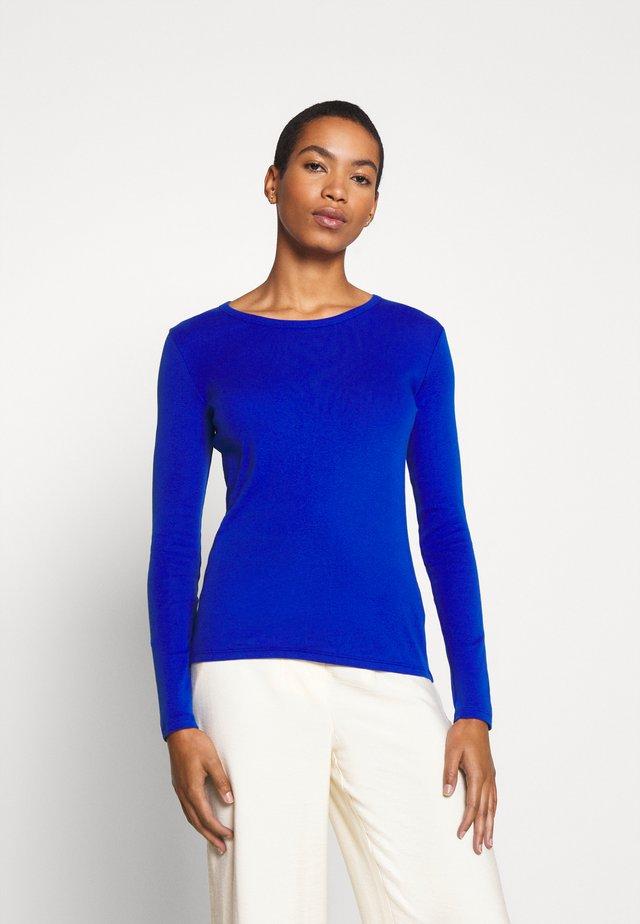 Topper langermet - blue