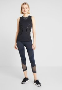 adidas by Stella McCartney - ESSENTIALS TANK - Sports shirt - black - 1