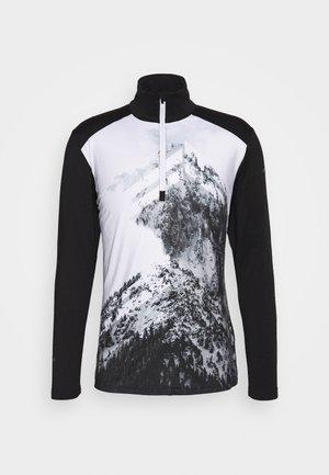 FLINT - Fleece jumper - black