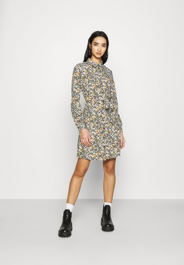 PCRAIN DRESS - Shirt dress - multi-coloured