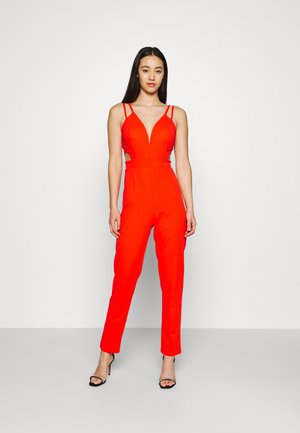 JIMMY CUT OUT - Jumpsuit - coral red