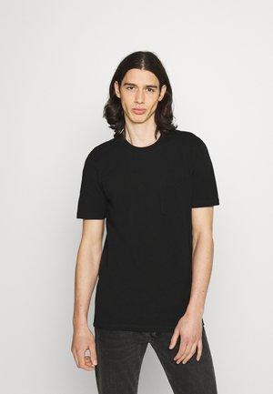 JANN - T-shirt basic - black