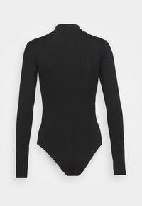 Calvin Klein Jeans - MICRO BRANDING - Long sleeved top - black - 6