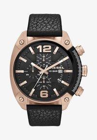 Diesel - OVERFLOW - Zegarek chronograficzny - black - 1