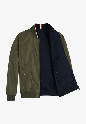 REVERSIBLE  - Bomber Jacket - army green