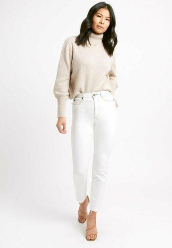 Slim fit jeans - blanc