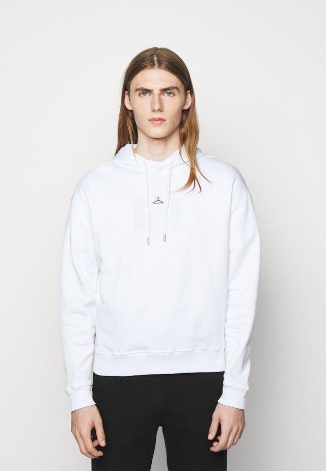 HANGER HOODIE - Hoodie - white