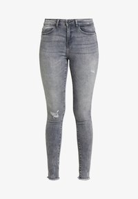Noisy May Tall - NMLUCY - Jeans Skinny Fit - light grey denim - 3