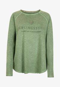 Lieblingsstück - Long sleeved top - oliv - 0